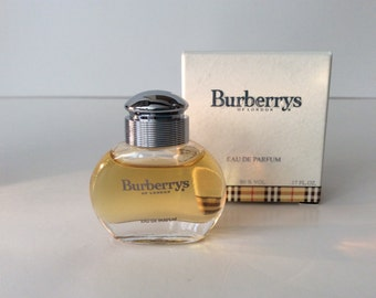 "Perfume mini ""Burberrys"" edp,5 mls. Made in France 1995"
