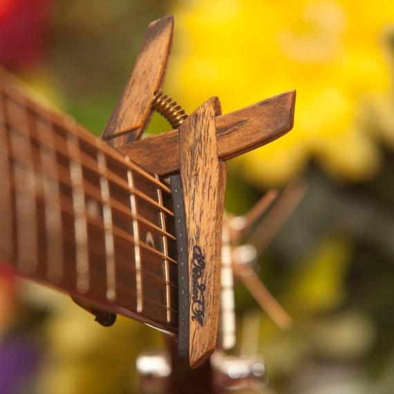 Bocote Guitar Wood Wooden Guitar Capo Bocote