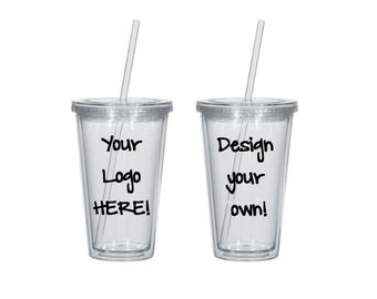Custom Tumbler Design - Personalize Acrylic Tumbler 16 oz - Funny Quote