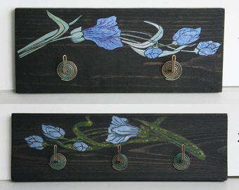 BrassRoses wooden hangers