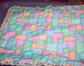 "Doll Quilt 17"" x 13"""