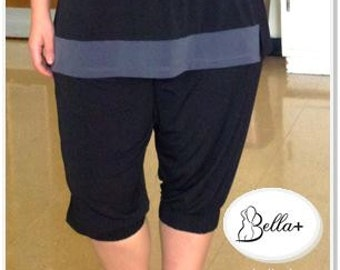 Yoga pants plus size wide leg