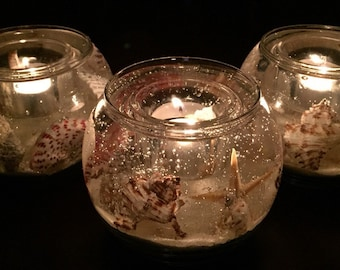 Illuminating Seashell Candle