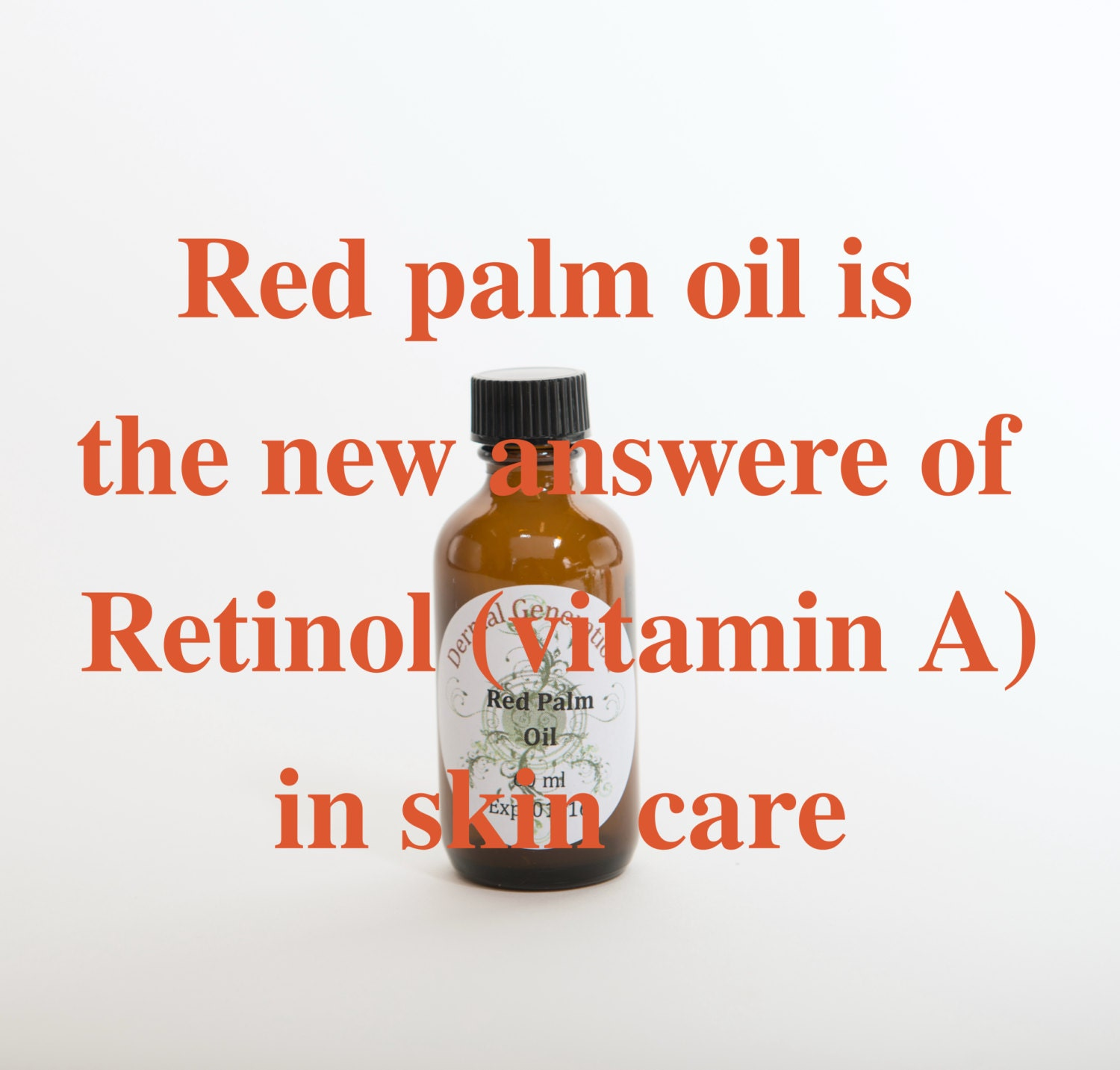 Red palm oil skin benefits