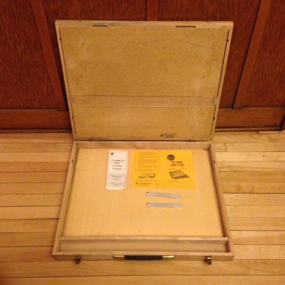 Ames Draft Pak Vintage Portable Briefcase Drafting Table