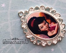 Vidia Pendant - Vidia Necklace - Tinkerbell Pendant - Pixie Hollow Fairy - Vidia Jewelry - Fairy Pendant - Fairy Necklace