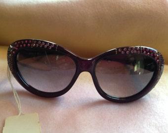 REDUCED!!  Vintage Purple Emmanuelle Khanh Sunglasses.  EK 120 CS 85.