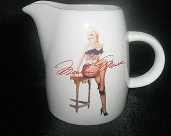 Marily Monroe Ceramic Creamer By Bernard Of Hollywood