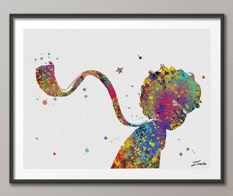 The little prince le petit prince print wedding gift children Decoration le petit prince