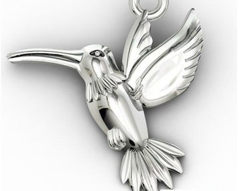 Charm HUMMINGBIRD Silver 925 s-charms 86