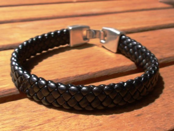 Braided Leather Bracelet Mens Jewelry Mens Bracelets