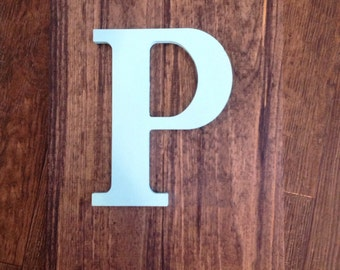 Customized Wooden Initial Sign
