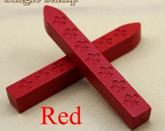 2pcs Red Sealing Wax Sticks for Wax Seal Stamp
