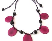 Tagua Chip Necklace - 9 Hot Colors
