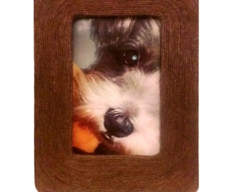 Natural Rope Picture Frame, Set of 2