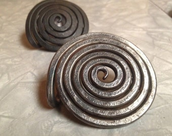 Spiral Steel Belt Buckle