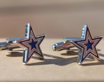 Dallas Cowboys Inspired Cufflinks