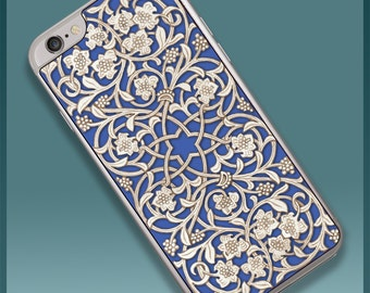 Blue Arabesque Smartphone Case for iPhone 6 and 6s (SP622)