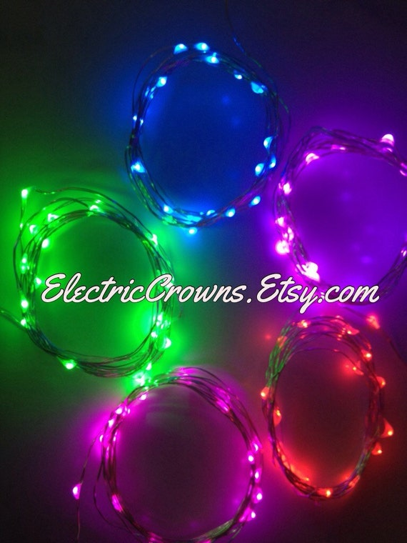 Fairy String Lights Submersible Waterproof Battery Pack Led Cool White : Led Lights Mini Lights Party Decor Event Red Green Blue