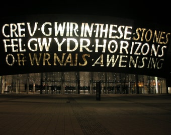 Millennium Centre, Cardiff Bay, South Wales