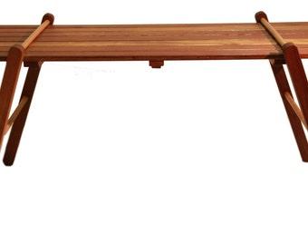 folding forbear BAMAKO in solid wood