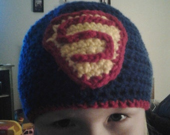 Superman Inspired Hat