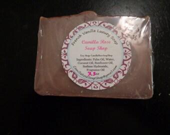 French Vanilla Handmade Cold Process Soap