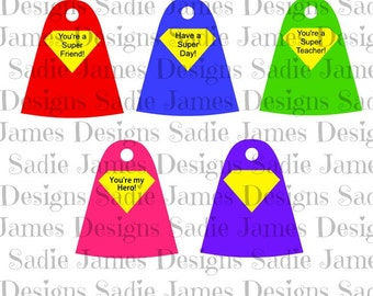 Printable Sucker capes, lollipop holders SVG and Silhouette Studio cutting file, Instant Download