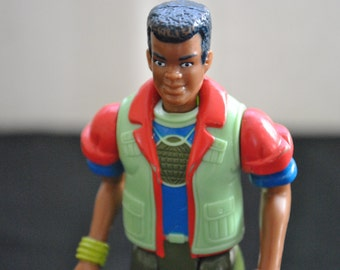 Kwame Captain Planet Figure