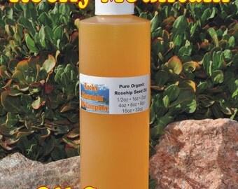 Premium Organic Rosehip Seed Oil -  Cold Pressed