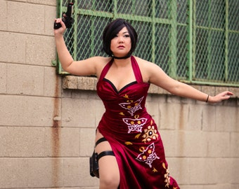 8x10 Ada Wong Resident Evil 4 Cosplay Print signed