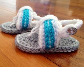 Crochet Baby Sandles/Flip-Flops