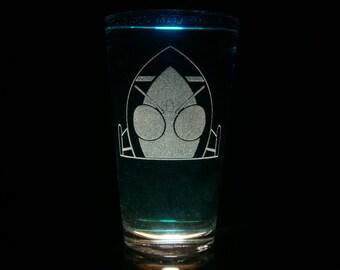 Kamen Rider Fourze Pint Glass