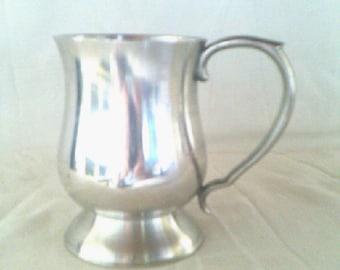 Pewter Mug Stamped Oriental Malaysia 97% SN Pewter