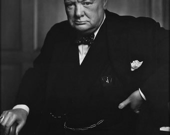 24x36 Poster; Sir Winston Churchill P1