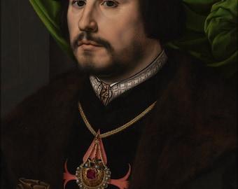 24x36 Poster; Jan Gossaert (Called Mabuse) - Portrait Of Francisco De Los Cobos Y Molina #031715