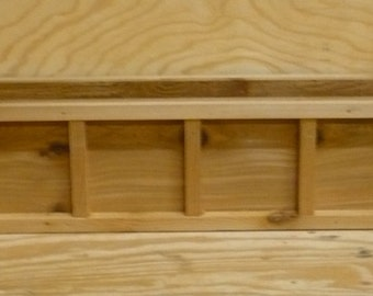 Brand New 32 inch Cedar Wood Window Planter Box - Decorative style wooden flower bed