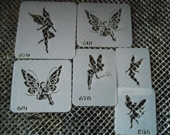Fairies Stencil Set 113!