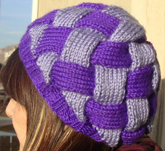 Royal Woven Hat (slouchy beanie style)