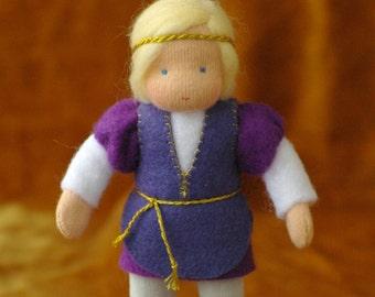 Prince, Waldorf doll