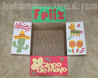 Cinco de Mayo Care Package Flaps