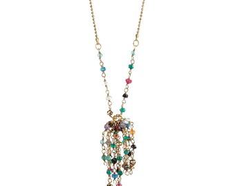 SEMI PRECIOUS Beads NECKLACE