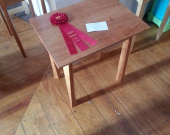 Maple/Cherry End Table