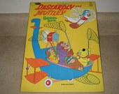 SALE !!! Vintage 1970 Dastardly and Muttley Coloring Book - Hanna-Barbera - Whitman