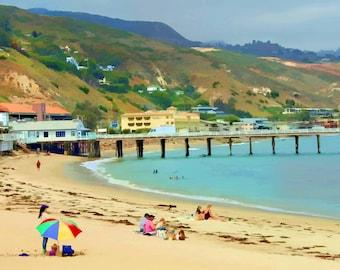 A Beach in Malibu