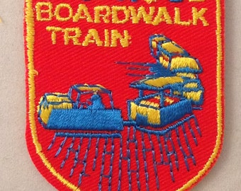Wildwood Boardwalk Train Vintage Souvenir Travel Patch from Voyager - LAST ONE!