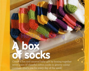 a box of socks knitting pattern 99p