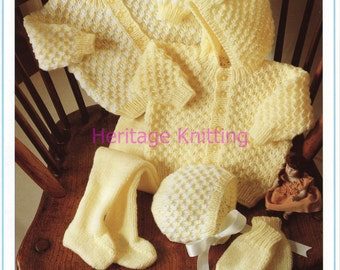 lemon set dk knitting pattern 99p