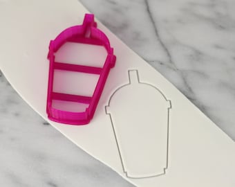 Iced Coffee Cup Cutter