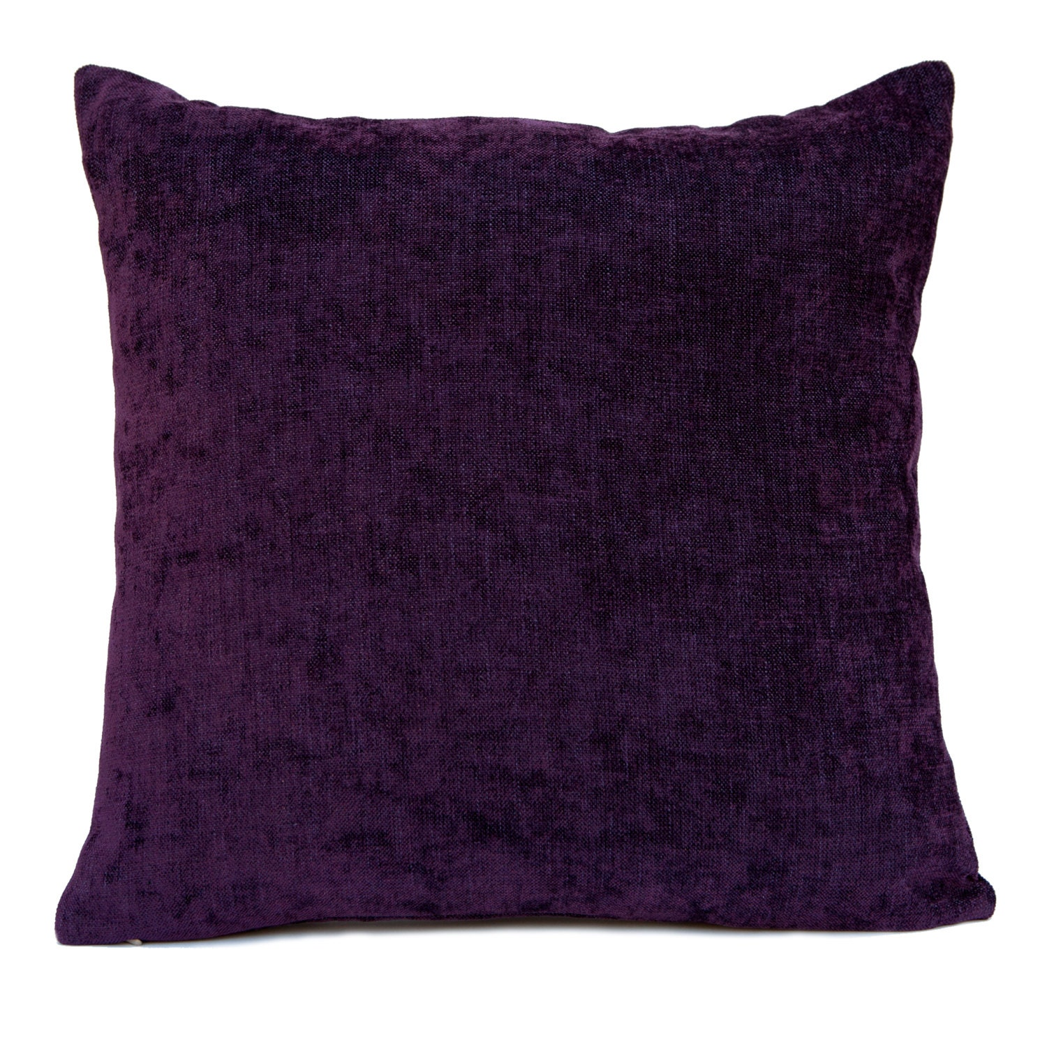 Purple Decorative Pillow : Dark Purple Pillow Throw Pillow Cover Decorative Pillow